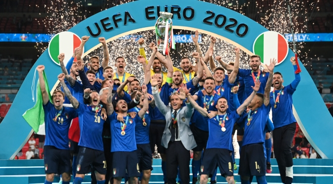 Italia campioni d'europa
